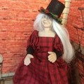1/12th OOAK Hand Made  Porcelain Doll  Florence Mystical Queen