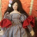1/12th OOAK Hand Made Doll  Cloe