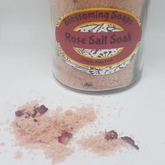 Artisan Rose Geranium Salt Soak