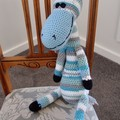 Cosby: Hand crocheted Giraffe by CuddleCorner: Soft, OOAK, Washable, Unisex