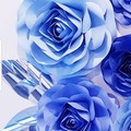 Handmade Paper Flowers - Paper Roses - Floral Backdrop - Baby Shower- wedding