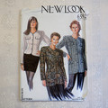 New Look 6592, Lined jacket pattern, sizes 8 - 20, UNCUT pattern