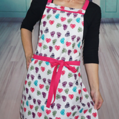 Sweet Heart Womens Kitchen Cooking Apron FREE Post!