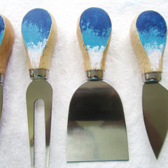 Ocean Themed Cheese Knife Set