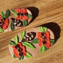 Handmade to Order - Banksia Brooch