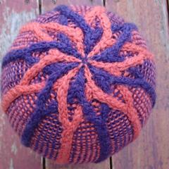 Teen small/medium adult, purple and orange