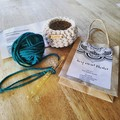 Make your own crochet basket kit