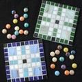 "Mosaic Coasters ""All Square II"""