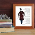 Printable Coleridge quote - The Devil's Thoughts - a poem about irony with illus