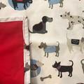 Dogs pattern Kids adjustable apron aged 5-10