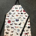 Dogs pattern Kids adjustable apron aged 5-10