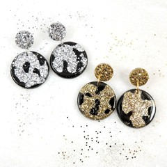 Lux collection circle dangles