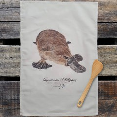 100% Cotton Tea Towel - Platypus