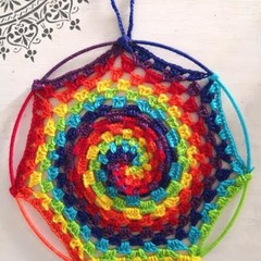 Rainbow Mandala/Dreamcatcher