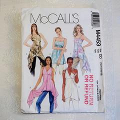 McCall's M4453, tunic pattern, top pattern, sizes 12 - 18