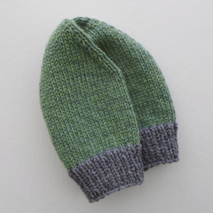 Green and Grey Cap For Small To Medium Size Adult
