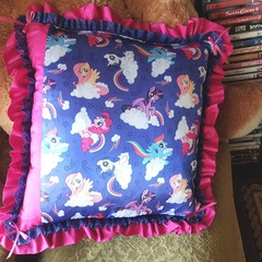 """Little Pony"" Cushion Cover"