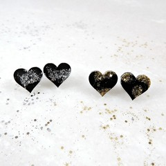 Lux collection little heart studs