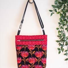 Red Waratah Bag/Tote