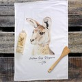 100% Cotton Tea Towel - Forester Kangaroo