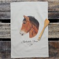 100% Cotton Tea Towel - Clydesdale Horse