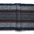 Pure Wool Loop Scarf, Handwoven,  Black, Blue, Grey, Burgundy