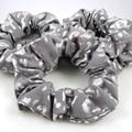 Metallic Animal Print Scrunchies
