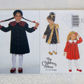 Butterick 3647, children's dress pattern. Sizes 2 - 5