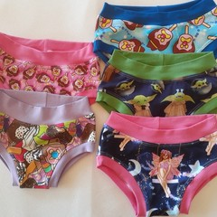 Mystery knickers jocks and size 9-10