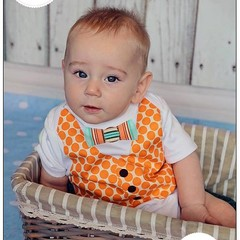 Vest Applique Pattern PDF Template to Embellish Baby Bodysuit or T-Shirt