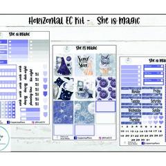 Weekly Sticker Kit | She is Magic | Horizontal Kit | Erin Condren