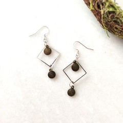 Surgical Steel Minimalist Boho Fine Jewelry Handmade Statement Earrings