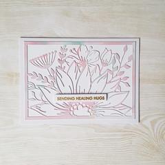 Sending Healing Hugs, Get Well Soon Card, Sympathy Card
