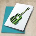 Acoustic Guitar Applique Template, Music, DIY, PDF Pattern for Children