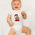 Gingerbread Man Santa Applique Template, PDF Pattern, DIY Christmas Designs