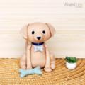 Rus the Dog Softie PDF Sewing Pattern. Stuffed Animal Pattern