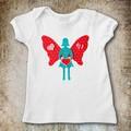 Fairy Applique Template, Valentine Fairy, Silhouette, PDF Pattern for Children