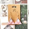 Stainless Steel Minimalist Fine Jewelry Handmade Polymer Clay Statement Earrings