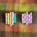 Musk Sticks & Fruity Musk Sticks Polymer Clay Brooch