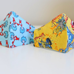 Child Patterned 3 layers Mask/Protective Kid Face Cover