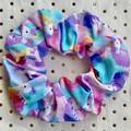 Large Purple-lilac unicorn ombré - scrunchies - women - children