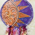 Whimsical Clay Dreamcatcher