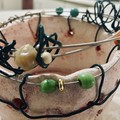 Whimsical clay pot