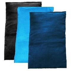 Wheat Bag 900g x 3 Bulk Pack Heat Bag Heat Pack Winter Plain Colours Purple Blue