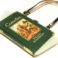 Comedies -  William Shakespeare Novel Bag - Upcycled book - Bag made from a book
