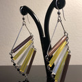 Earrings 'Aida' - Vintage Czech Glass Beads