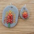 Australian Native Birthflower Necklaces - July, August, September