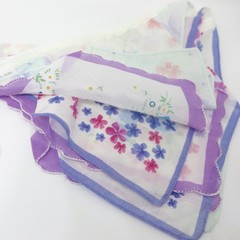 Vintage Hanky Bunting - Wedding Party Engagement   Boho * FREE POSTAGE*