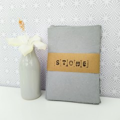 'Stone' mini handmade paper bundle