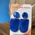 Royal Blue earrings
